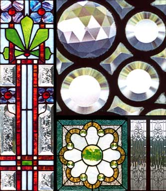 Antique Victorian, Arts & Crafts, Art Nouveau, and Art Deco Windows