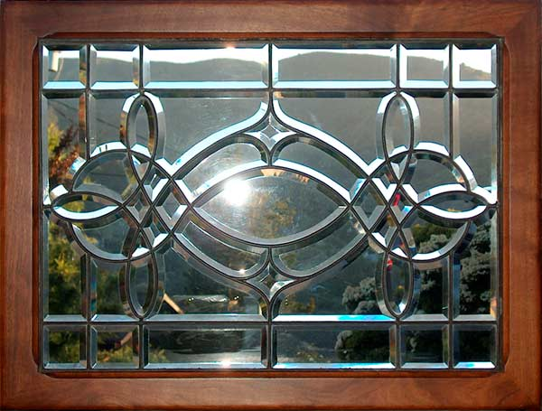 Age Of Elegance Antique Victorian Beveled Glass Window